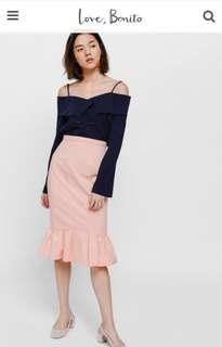 Love Bonito Shenya Trumpet Skirt