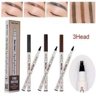 Music Flower Microblading Eyebrow Pen Liquid Waterproof Original
