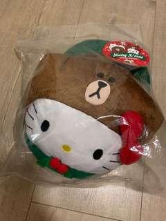 Hello Kitty X Brown cushion