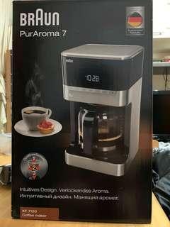 Braun 百靈咖啡機PurAroma 7 coffee machine KF 7120