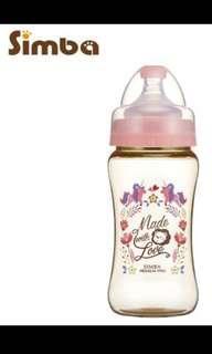 simba wide neck feeding bottle