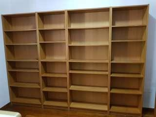 Ikea billy tall bookcases