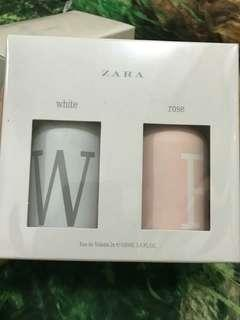 Parfume zara white & rose original