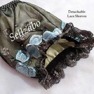 New Lace Partial Hands Sleeves Black Colour Sellzabo (Arms Cover)