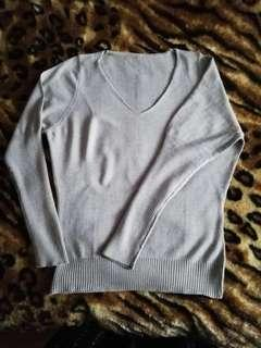 Ladies V-Neck Sweater Plus Size
