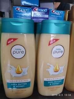 Cussons Pure Nourishing Shea Butter and Honey Shower Cream 500ml