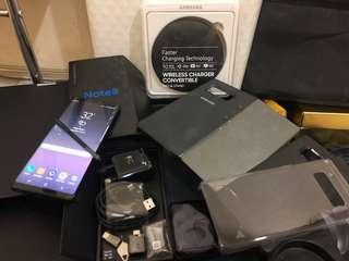 Samsung Note 8 Set Lengkap dan Bonus 7 Gratis