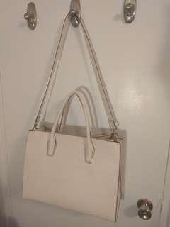 H&M large pink handbag