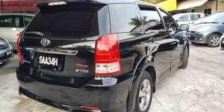Toyota wish 2.0 vti facelift