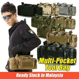 SWAT military waist crossbody chest bag outdoor camping hiking pouch