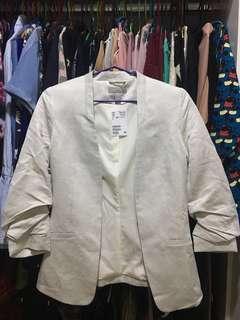 *New* H&M Linen-blend Jacket Blazer