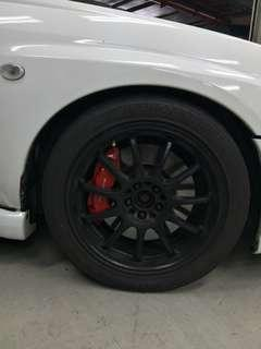 Ssr type f rep with re71r 17 inch