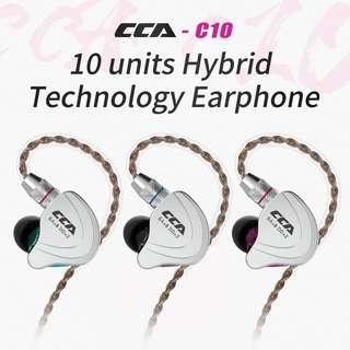 CCA C10 混合耳機