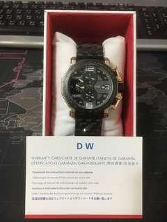 🚚 DW 日本真三眼手錶 全新保固一年!