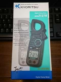 "KYORITSU KEW 2017R Digital Clamp Meter (TRUE RMS) 日本""共立""萬用鉗錶 全新未用過"
