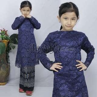 🚚 Lace Kurung batik set