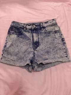 6ixty 8ight 牛仔短褲