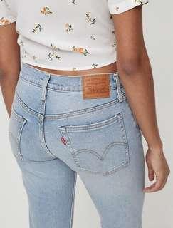 Levi's Wedgie Fit ICON Jeans