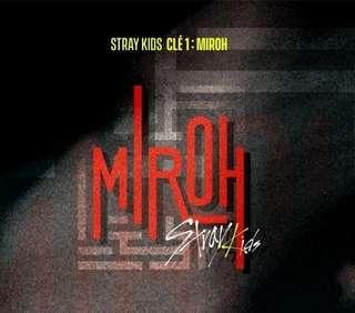 "Stray Kids Mini Album [Clè 1:Miroh] ""Miroh Ver"" #SSV8"
