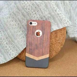 Circle wood hard case for iphone 6 6s hard case handphone hp