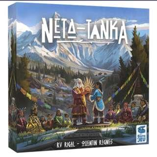 NETA TANKA BOARD GAME DELUXE KS EDITION (Brand new)