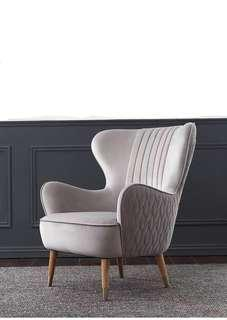 The swoop wing chair Sofa chair luxury not ikea rozel
