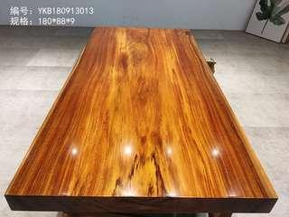 south Africa Gabon wood dining table top
