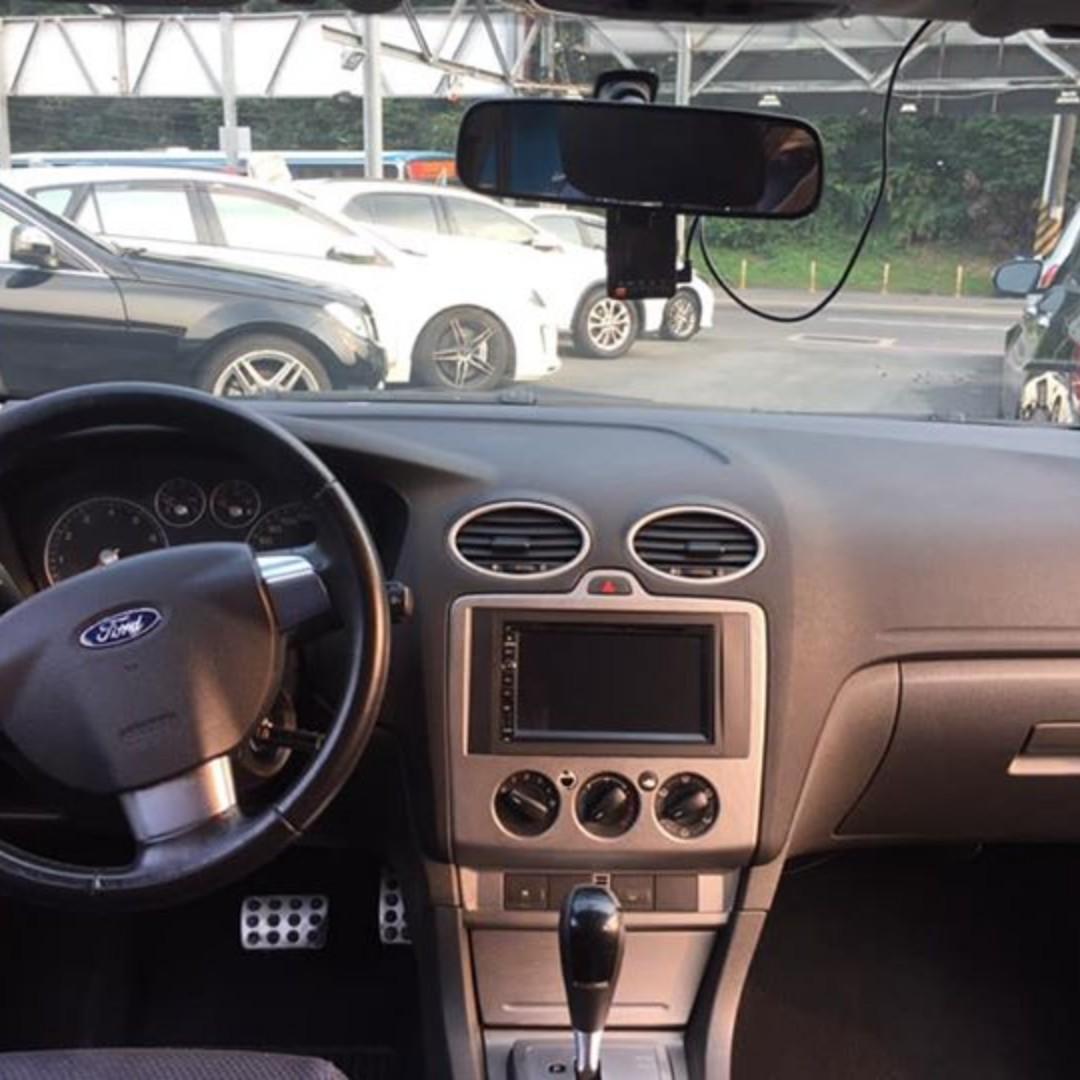 05年 Ford Focus 2.0 自手排 內外漂亮 免整理 小改裝 正常跑 雙出排氣管 加裝螢幕
