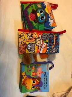 Cloth book soft toy