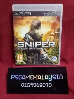 Ps3 Sniper Ghost Warriors