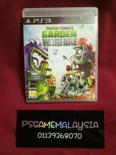 Ps3 Plants Vs Zombie Garden Warfare