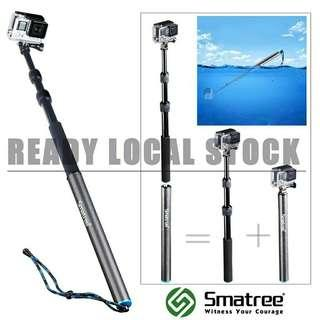 Smatree SmaPole S3 Detach & Extendable Floating Pole for GoPro / Other actioncam