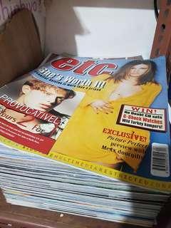 🚚 etc magazines Singapore back issues whole stack