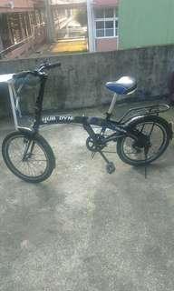 HUB & DYNE Folding Bike