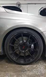 "ASGA 19"" Sport Rim Wheel And Tyre"
