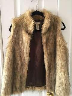 Kenar Faux Fur Vest