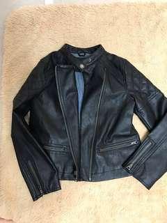 Gap biker jacket size 8 justice jeans 12