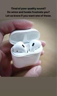 Alternative AirPods (highest featured on youtube/Instagram)