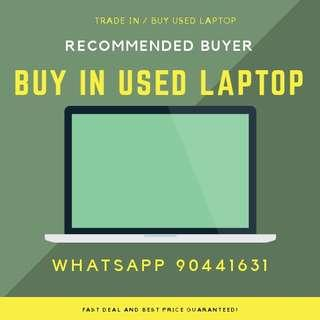 LAPTOP BUYER ! PAY IN CASH FAST DEAL