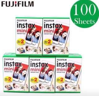 Fujifilm Instax Instant Mini Film 100 sheets