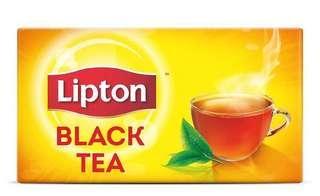 🚚 1000 pcs Lipton black tea.