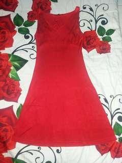 Authentic Red Dress Ralph Lauren
