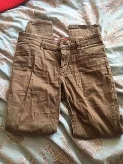 Green pants/jeans