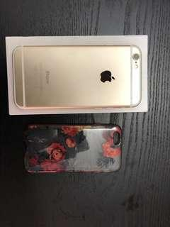 iPhone 6, 16gb, gold, negotiable!