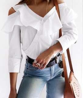 Tigermist Riviera shirt in white