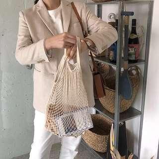 FISH NET BAG *PREORDER*