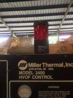 HVOF high velocity oxygen fuel