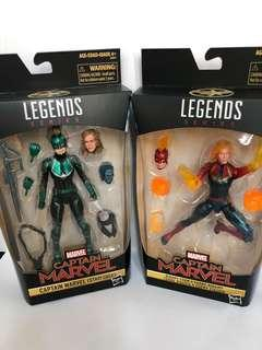 Binary and Starforce Captain Marvel - Target and Walmart Exclusive