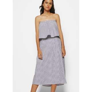[PRELOVED] COTTONINK Stripe Dress