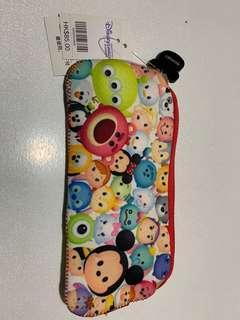 🚚 Authentic hongkong disneyland tsum tsum small pencil case